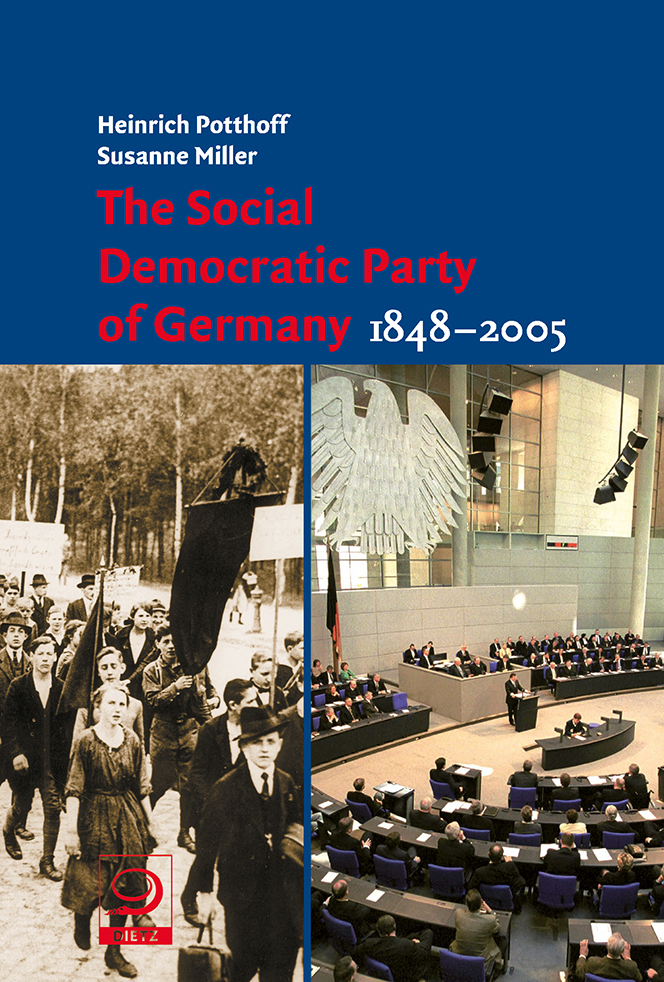 Buch-Cover von »The Social Democratic Party of Germany 1848-2005«