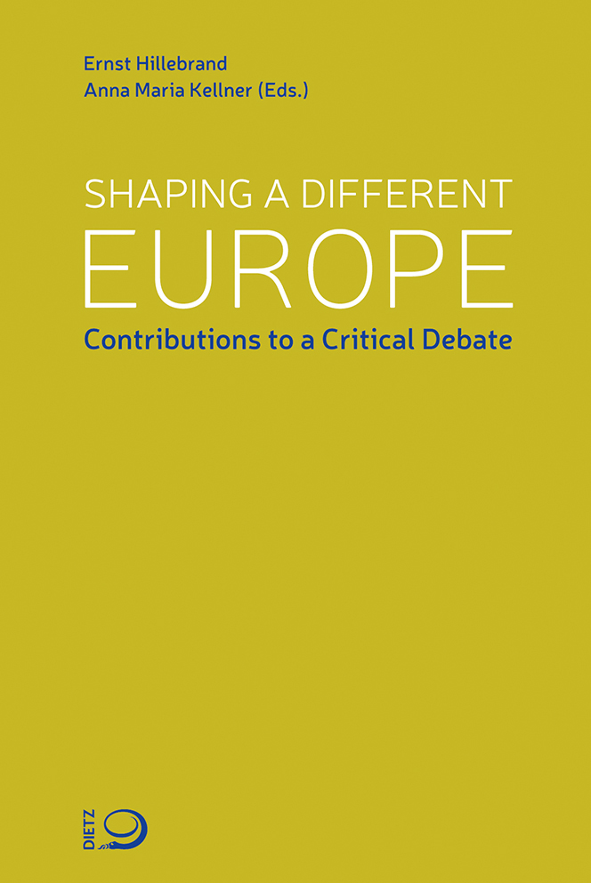 Buch-Cover von »Shaping a different Europe«